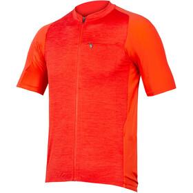 Endura GV500 Reiver Maglietta a Maniche Corte Uomo, arancione